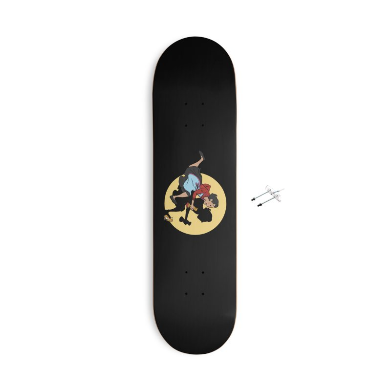The Adventures of Fleabag Accessories With Hanging Hardware Skateboard by Rodrigobhz