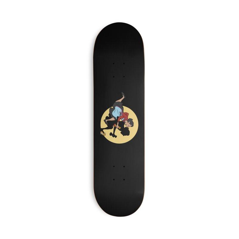 The Adventures of Fleabag Accessories Deck Only Skateboard by Rodrigobhz