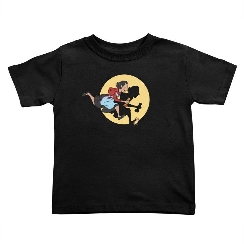 The Adventures of Fleabag Kids Toddler T-Shirt by Rodrigobhz