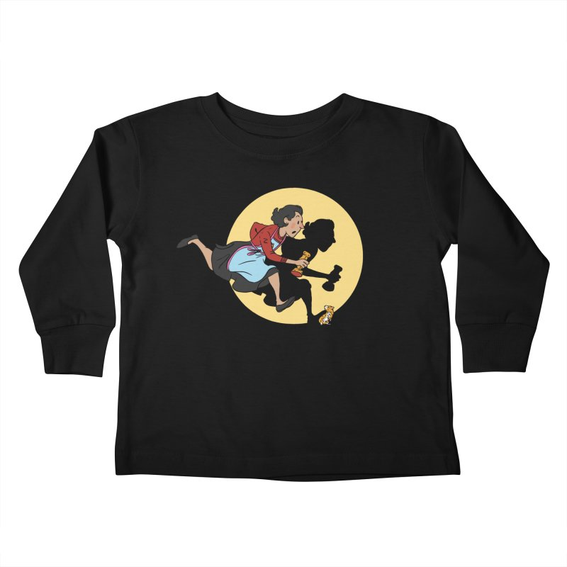 The Adventures of Fleabag Kids Toddler Longsleeve T-Shirt by Rodrigobhz