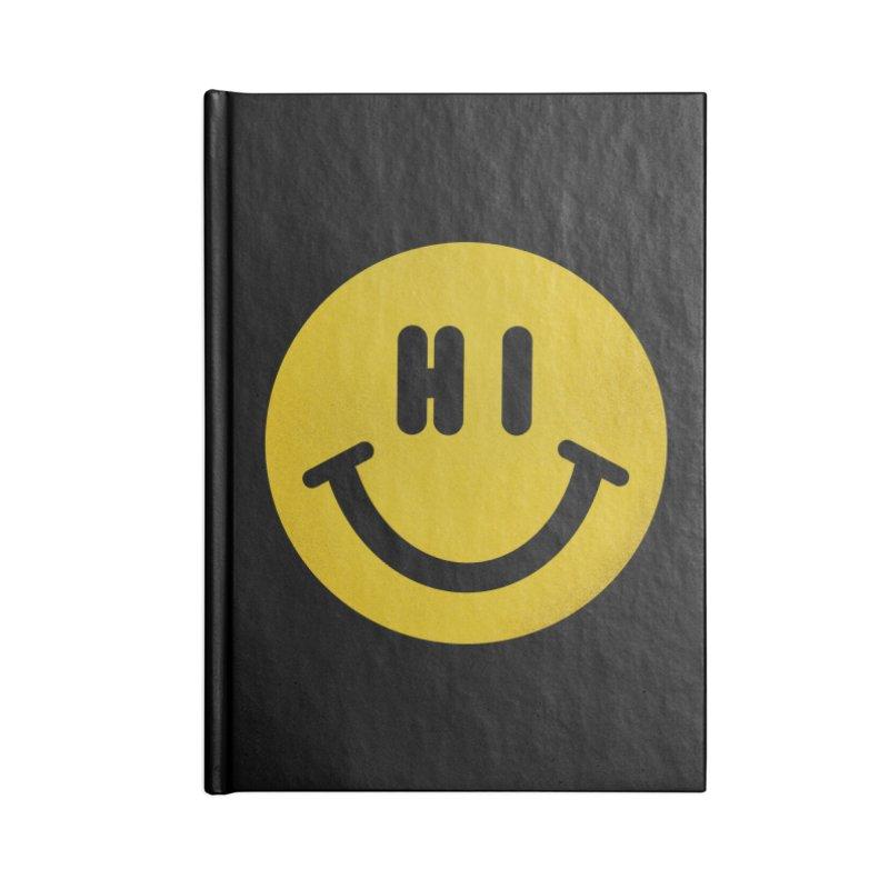 Hi Accessories Blank Journal Notebook by Rodrigobhz