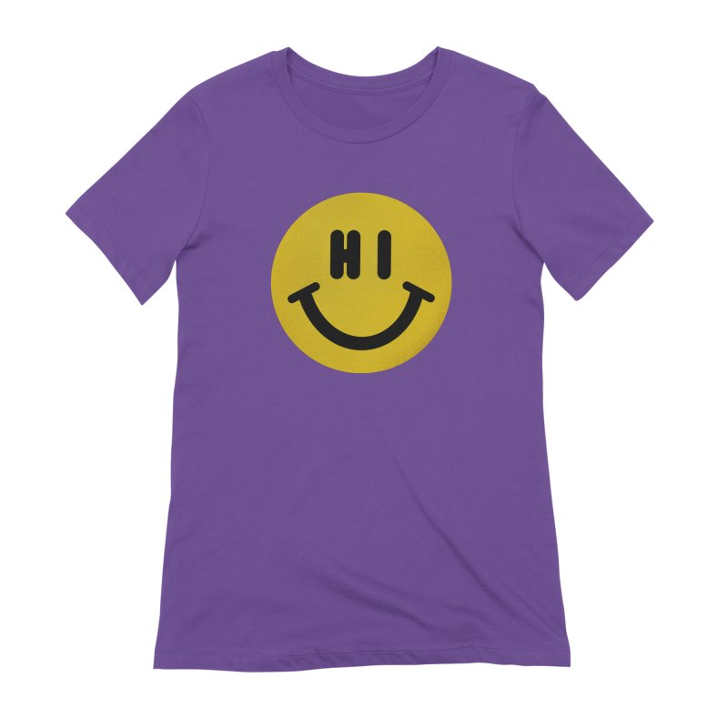 Hi Women's Extra Soft T-Shirt by Rodrigobhz