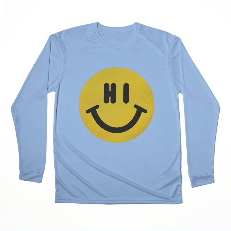 Hi Men's Performance Longsleeve T-Shirt by Rodrigobhz