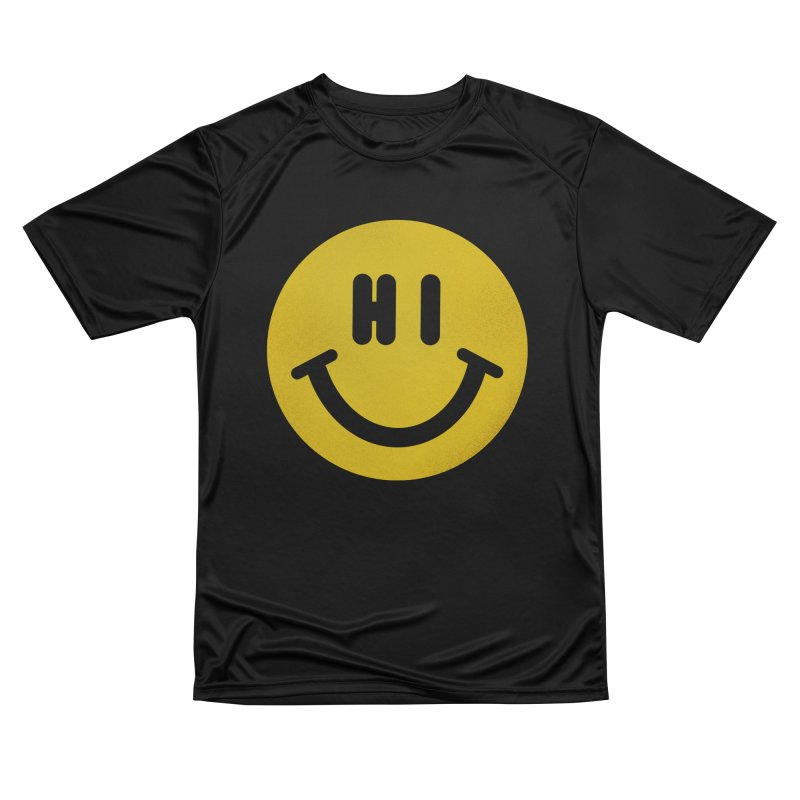 Hi Men's Performance T-Shirt by Rodrigobhz