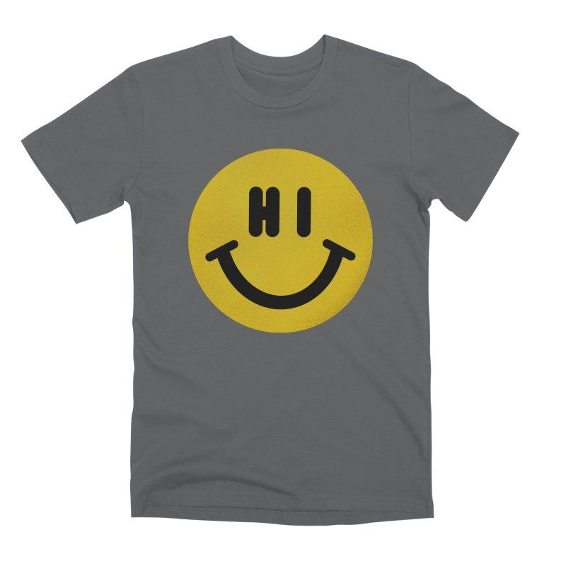 Hi Men's Premium T-Shirt by Rodrigobhz