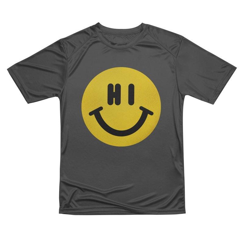 Hi Women's Performance Unisex T-Shirt by Rodrigobhz