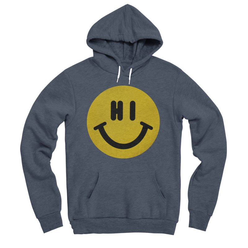 Hi Women's Sponge Fleece Pullover Hoody by Rodrigobhz