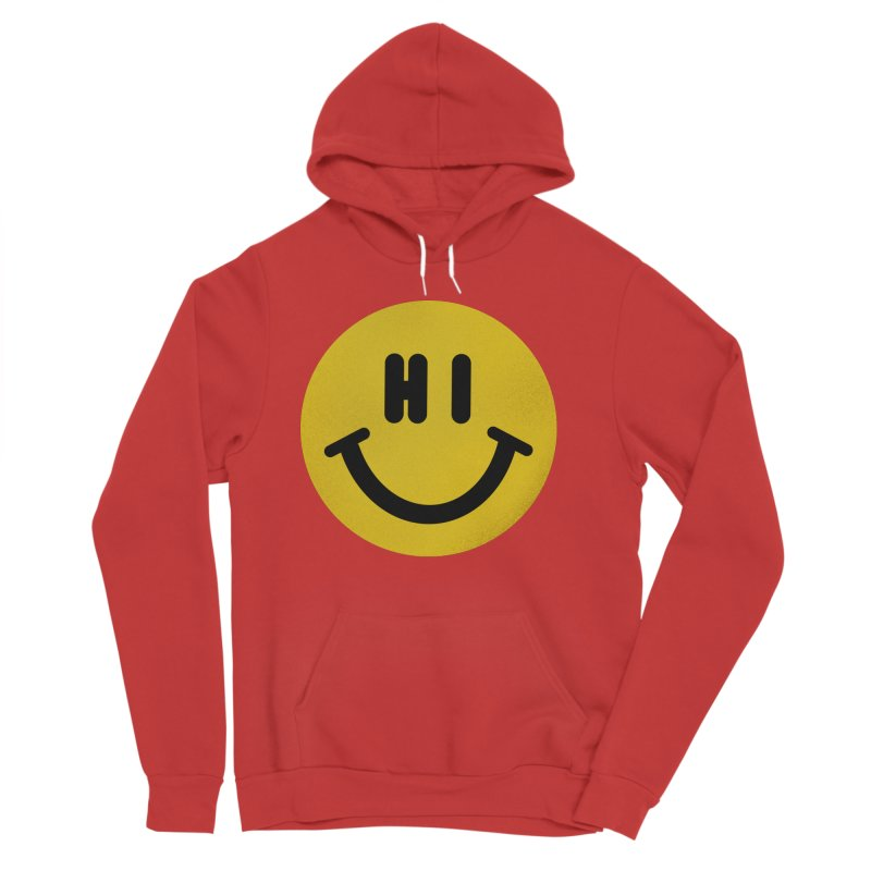 Hi Men's Sponge Fleece Pullover Hoody by Rodrigobhz