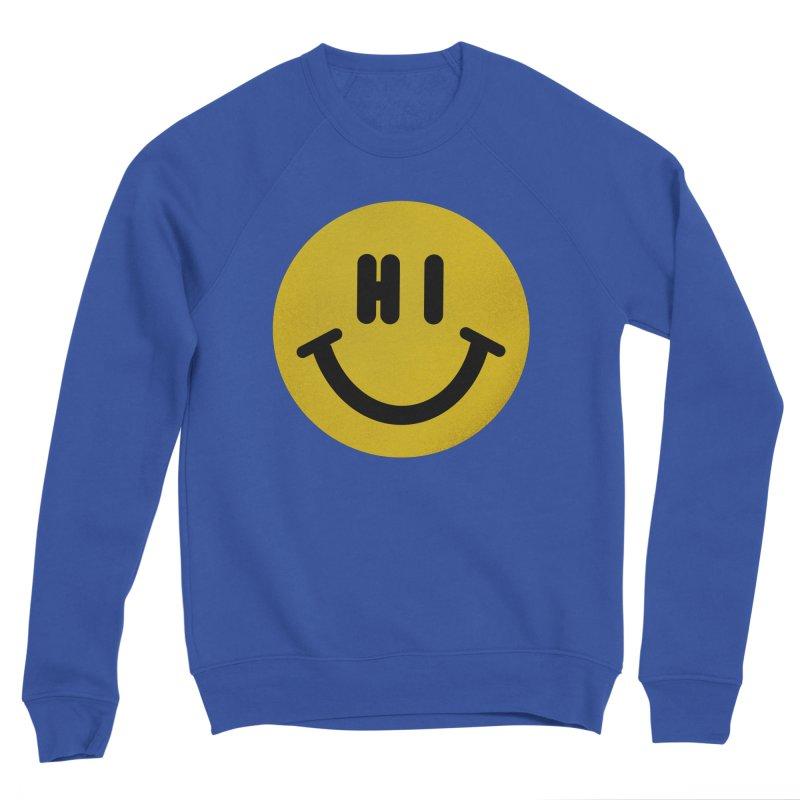 Hi Men's Sponge Fleece Sweatshirt by Rodrigobhz