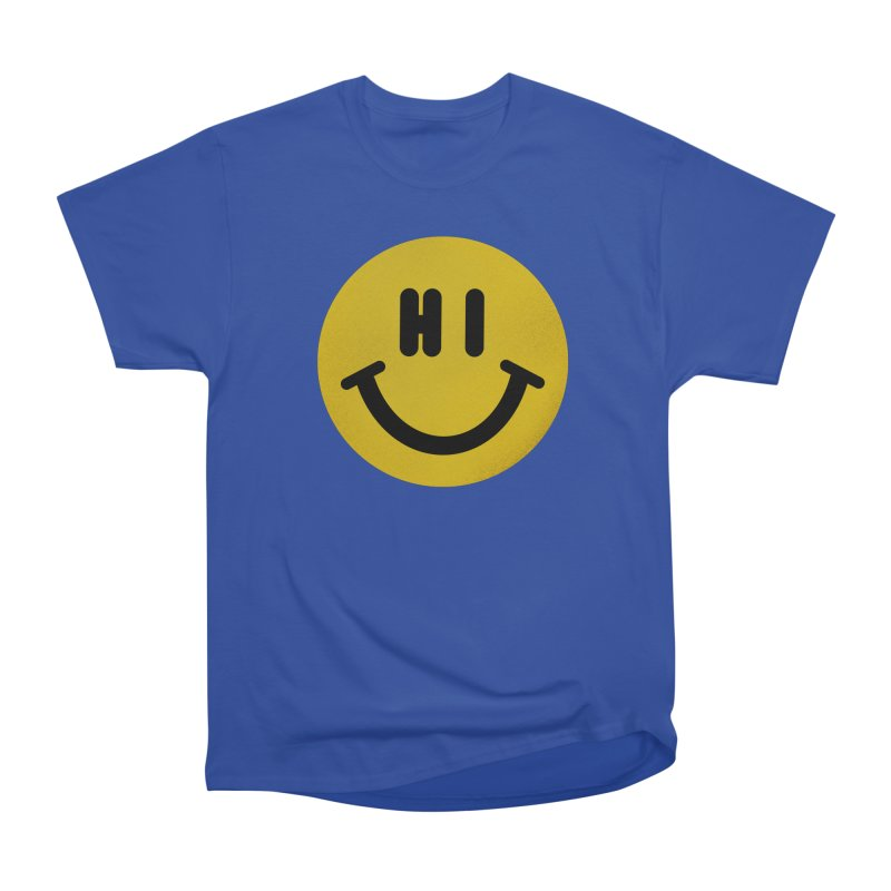 Hi Women's Heavyweight Unisex T-Shirt by Rodrigobhz