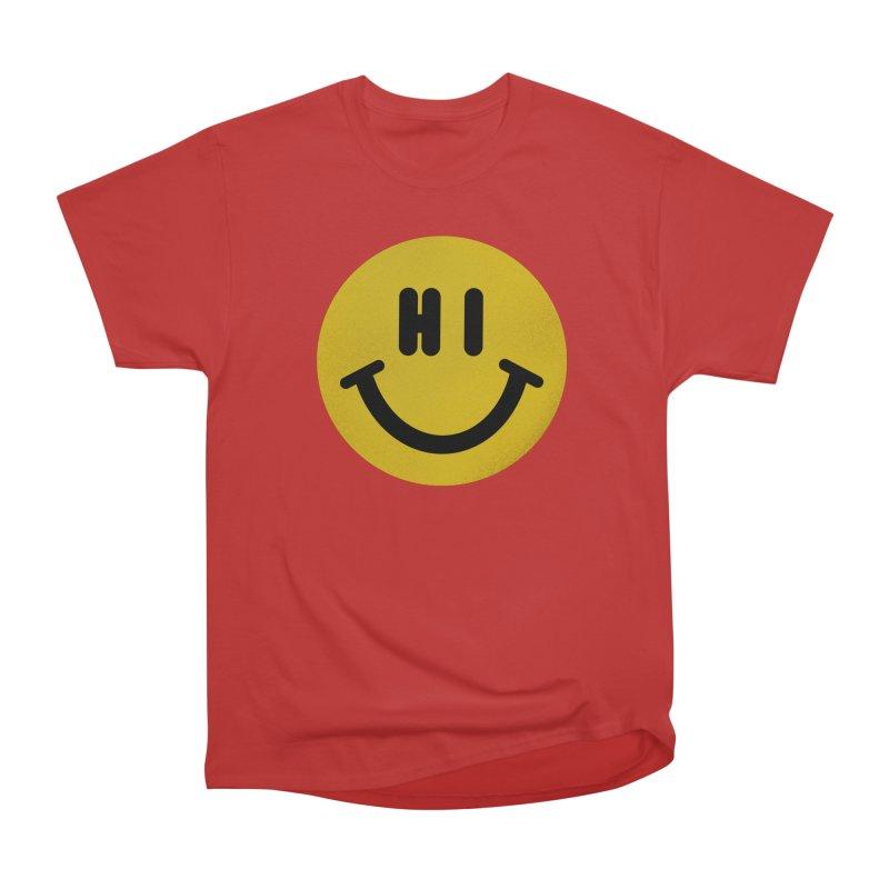 Hi Men's Heavyweight T-Shirt by Rodrigobhz
