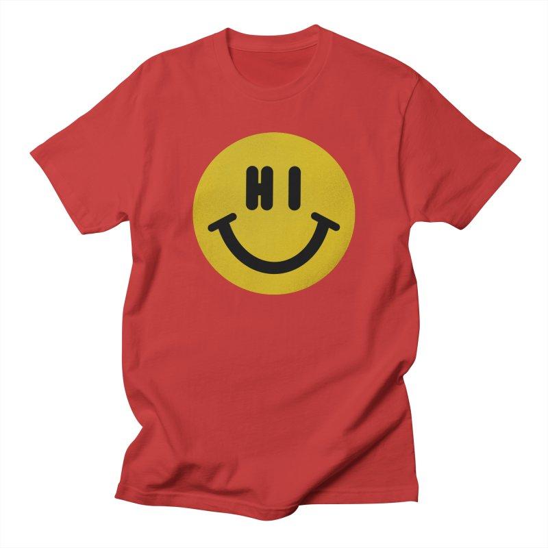 Hi Women's Regular Unisex T-Shirt by Rodrigobhz