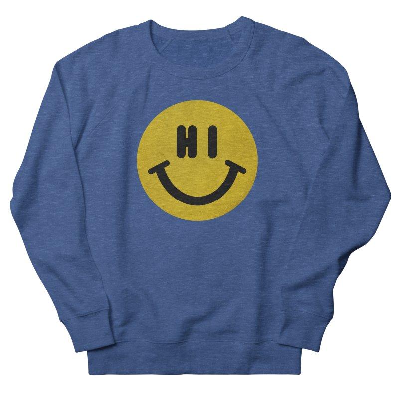 Hi Men's French Terry Sweatshirt by Rodrigobhz