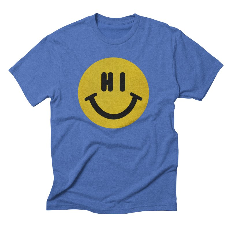 Hi Men's Triblend T-Shirt by Rodrigobhz