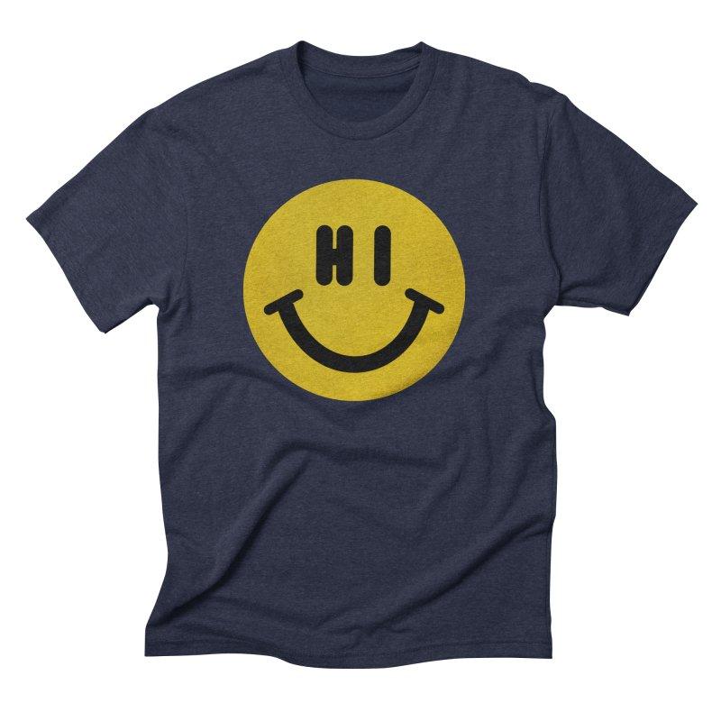 Hi Men's Triblend T-Shirt by Rodrigobhz