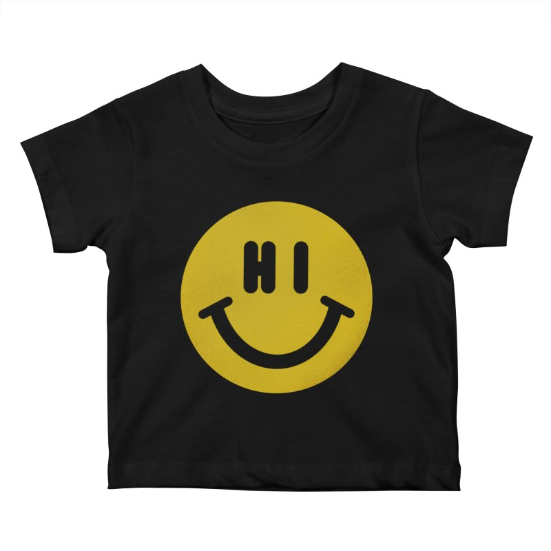 Hi Kids Baby T-Shirt by Rodrigobhz