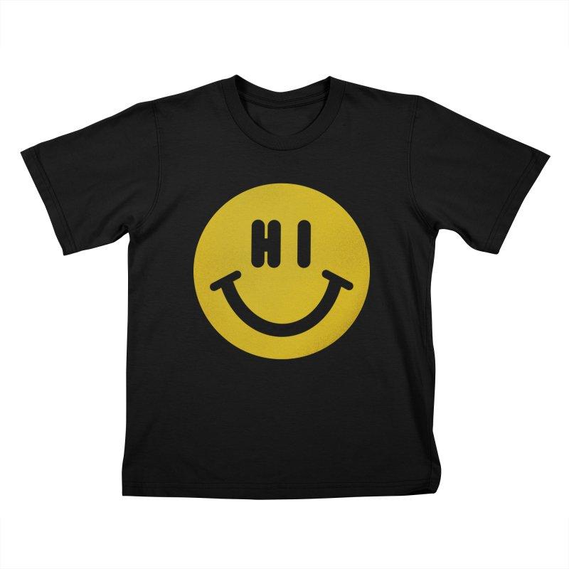 Hi Kids T-Shirt by Rodrigobhz