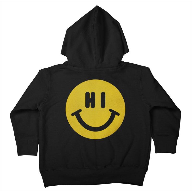 Hi Kids Toddler Zip-Up Hoody by Rodrigobhz