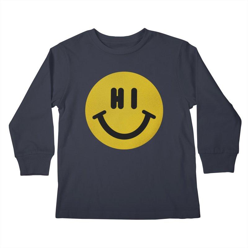 Hi Kids Longsleeve T-Shirt by Rodrigobhz