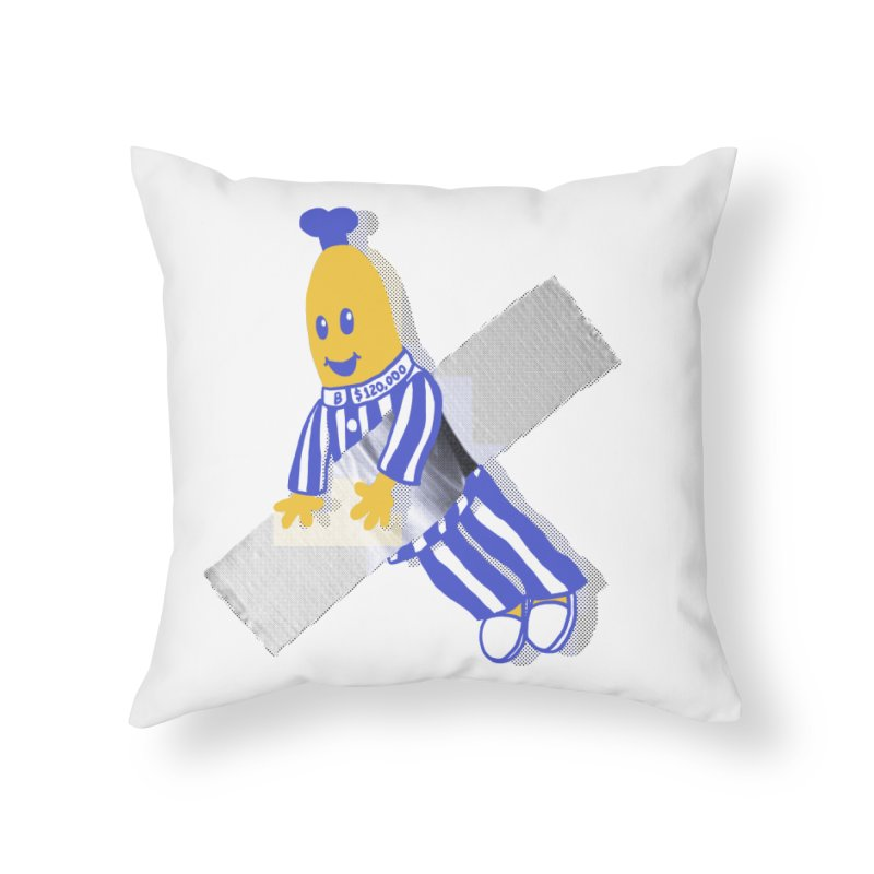 Art Home Throw Pillow by Rodrigobhz