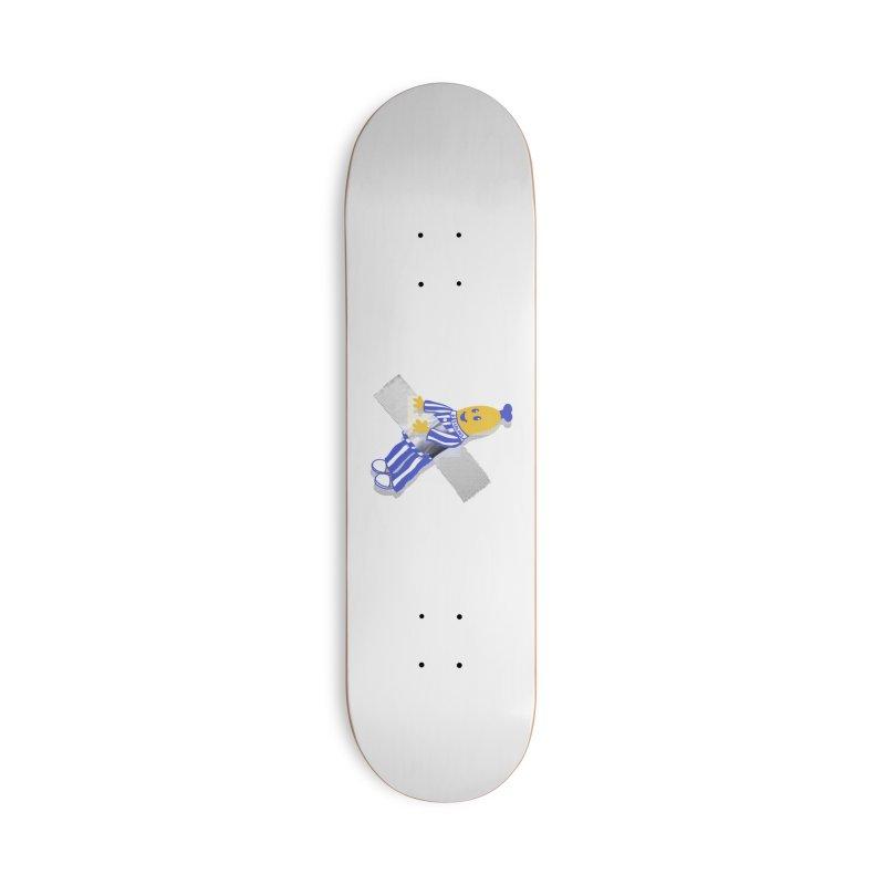 Art Accessories Deck Only Skateboard by Rodrigobhz