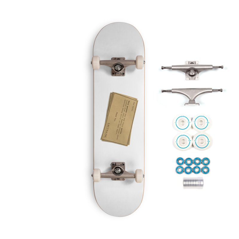 Remember, you can forget the bills Accessories Complete - Basic Skateboard by Rodrigobhz