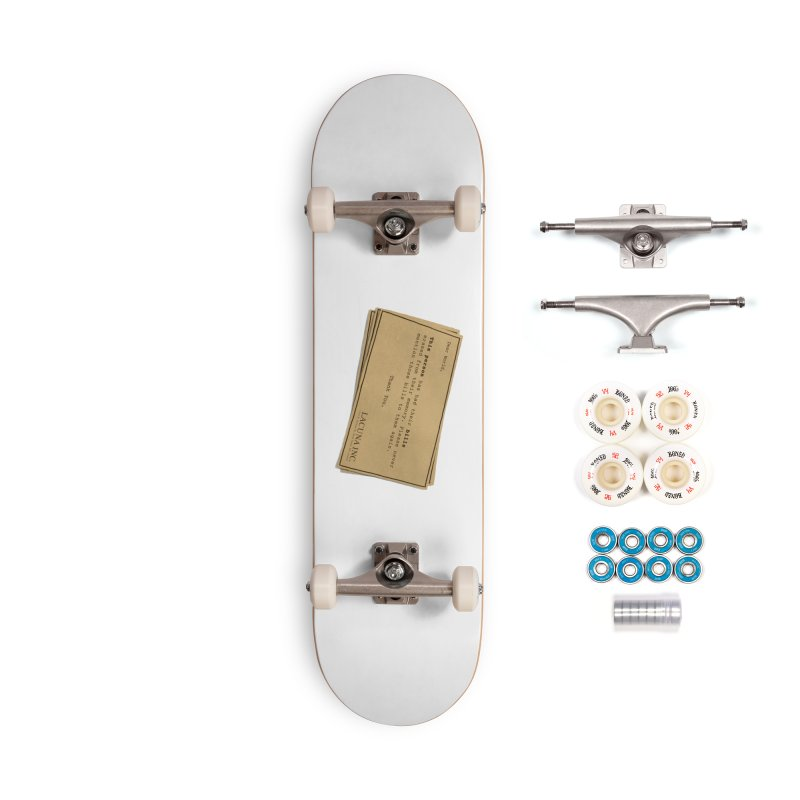 Remember, you can forget the bills Accessories Complete - Premium Skateboard by Rodrigobhz