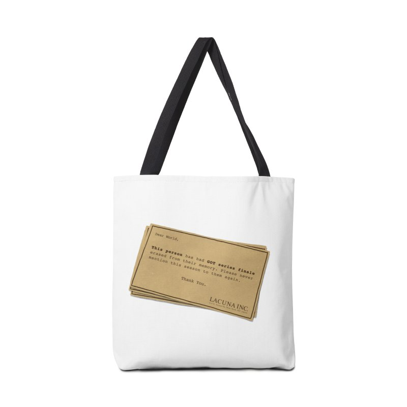 You can forget GOT bad ending Accessories Tote Bag Bag by Rodrigobhz