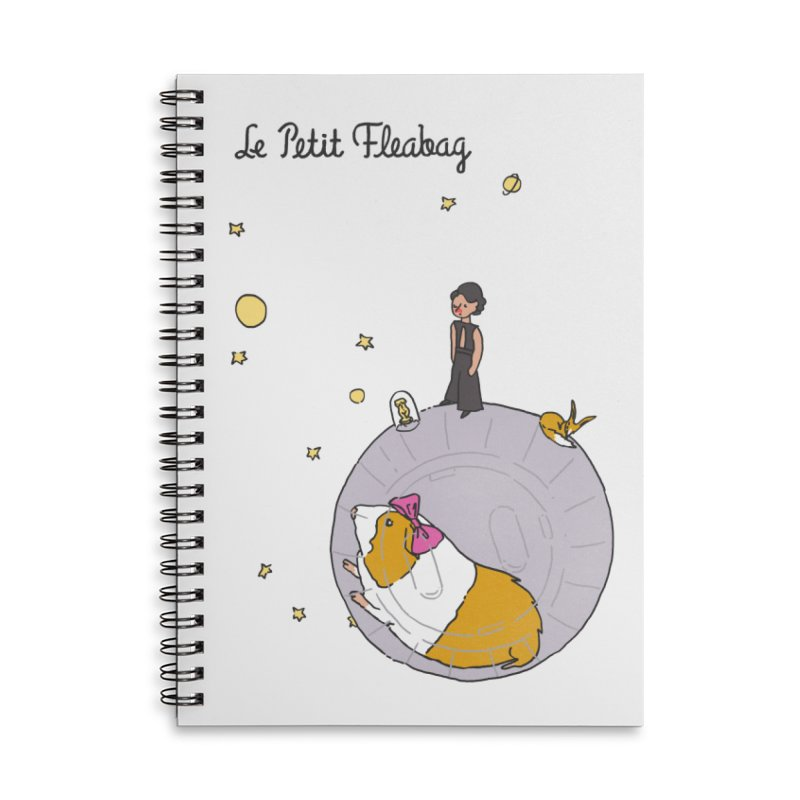 Le Petit Fleabag Accessories Lined Spiral Notebook by Rodrigobhz