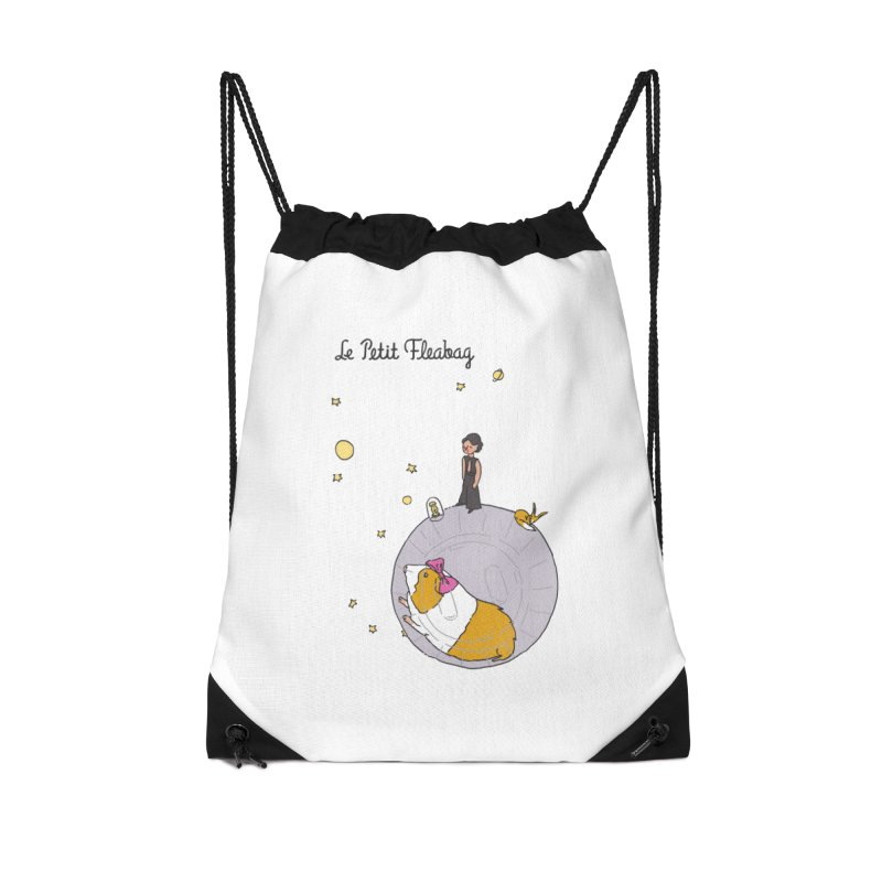 Le Petit Fleabag Accessories Drawstring Bag Bag by Rodrigobhz