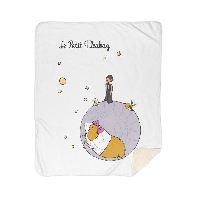 Le Petit Fleabag Home Sherpa Blanket Blanket by Rodrigobhz