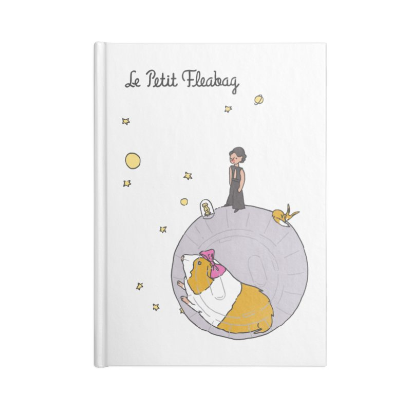 Le Petit Fleabag Accessories Blank Journal Notebook by Rodrigobhz