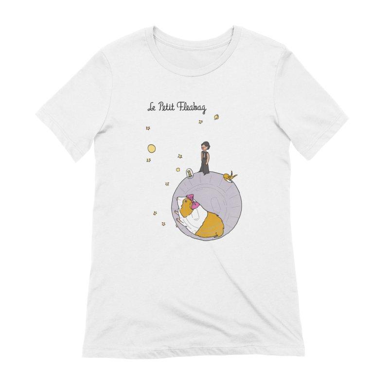 Le Petit Fleabag Women's Extra Soft T-Shirt by Rodrigobhz