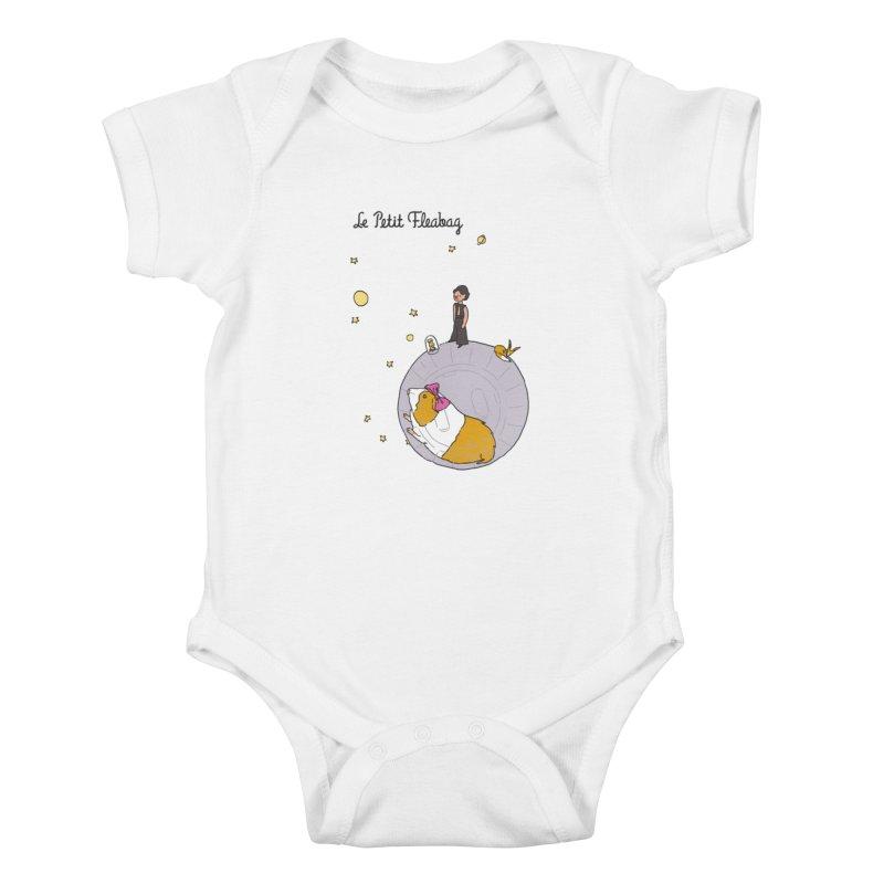Le Petit Fleabag Kids Baby Bodysuit by Rodrigobhz