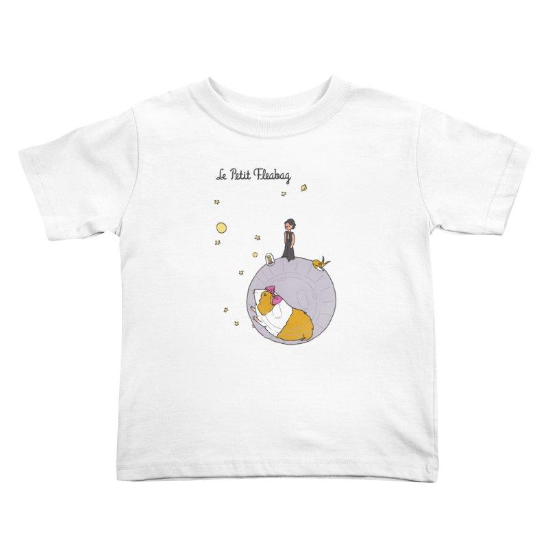 Le Petit Fleabag Kids Toddler T-Shirt by Rodrigobhz