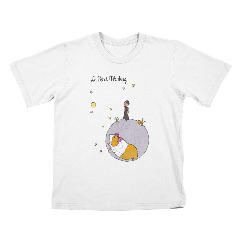 Le Petit Fleabag Kids T-Shirt by Rodrigobhz