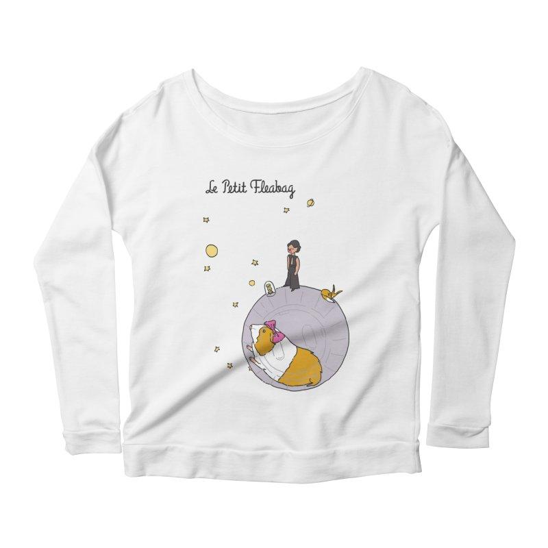 Le Petit Fleabag Women's Scoop Neck Longsleeve T-Shirt by Rodrigobhz