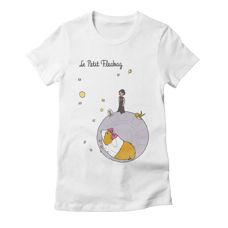 Le Petit Fleabag Women's Fitted T-Shirt by Rodrigobhz