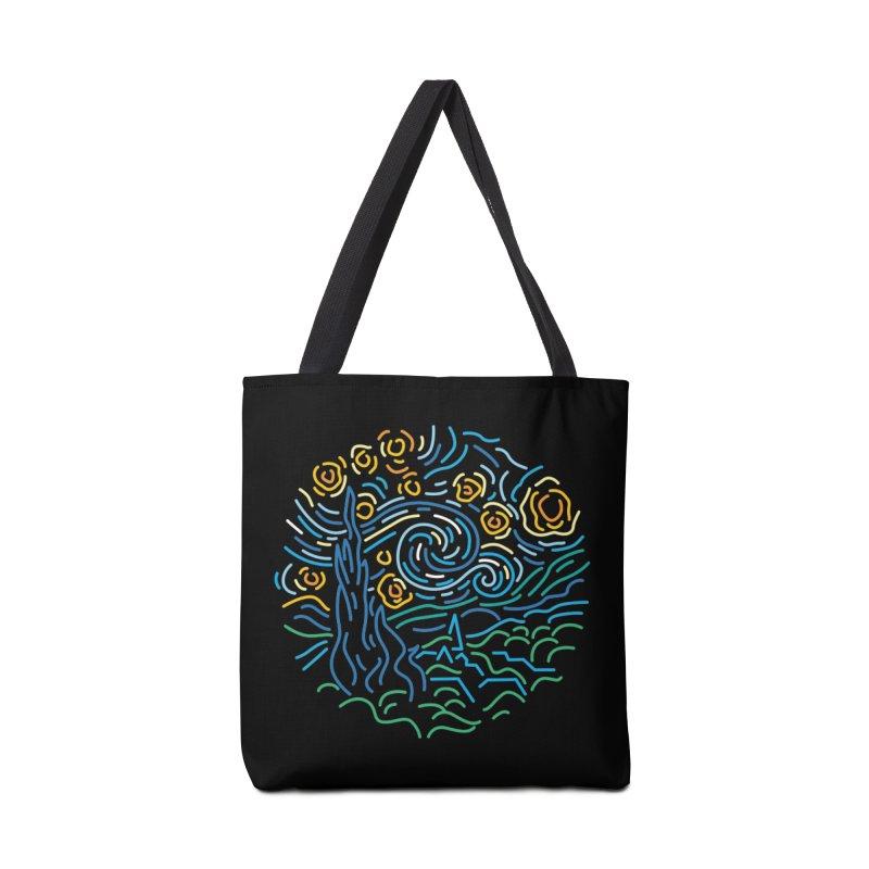 Starry night Accessories Tote Bag Bag by Rodrigobhz
