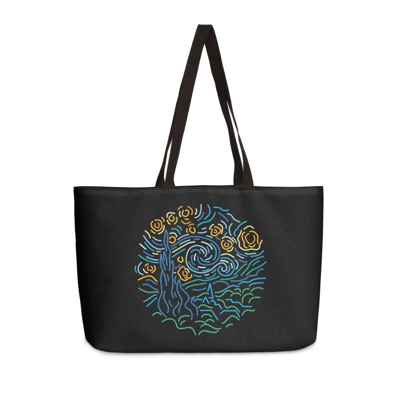 Starry night Accessories Weekender Bag Bag by Rodrigobhz