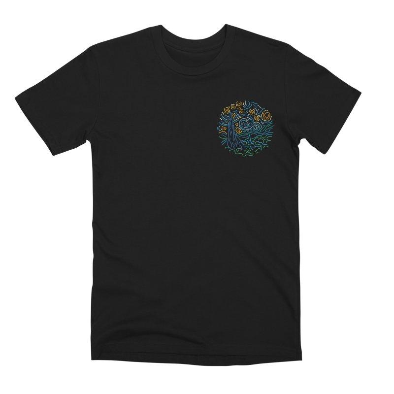 Starry night Men's Premium T-Shirt by Rodrigobhz
