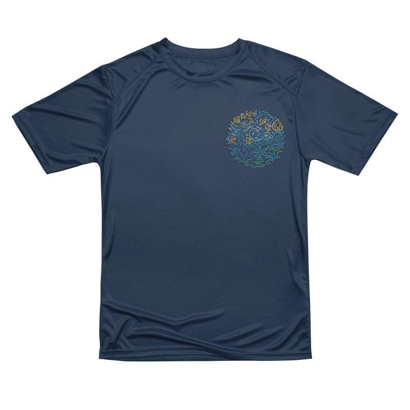 Starry night Men's Performance T-Shirt by Rodrigobhz