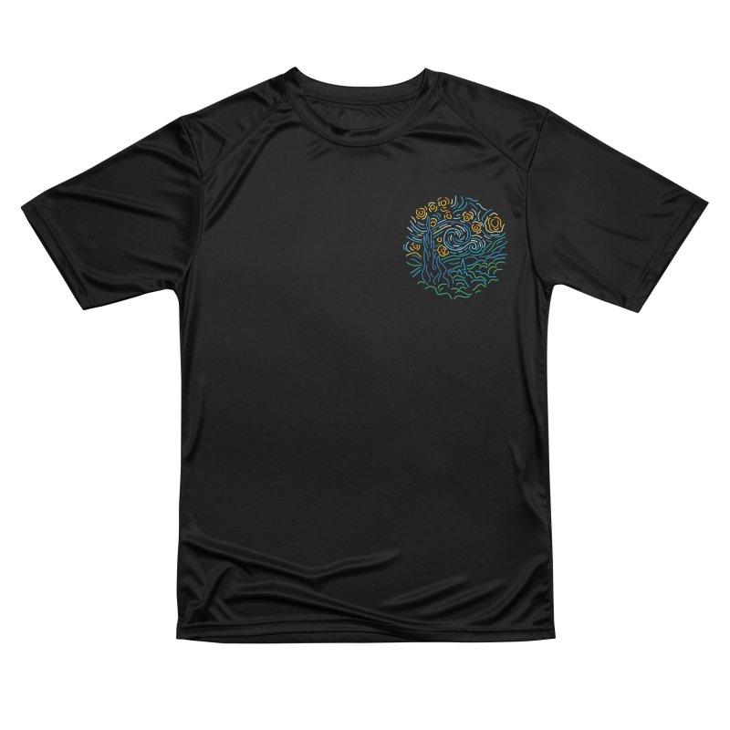 Starry night Women's Performance Unisex T-Shirt by Rodrigobhz