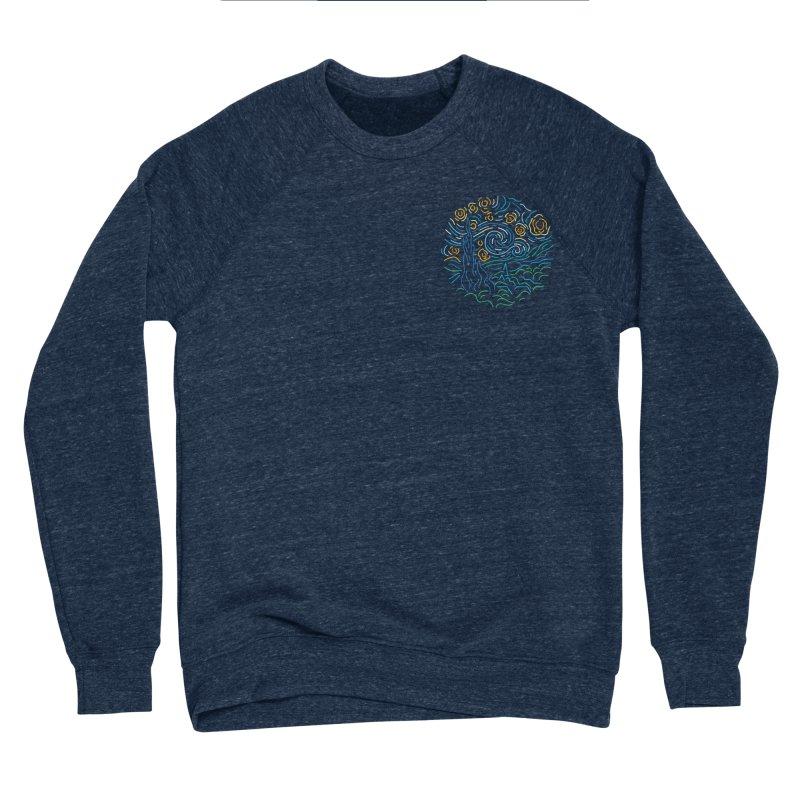 Starry night Men's Sponge Fleece Sweatshirt by Rodrigobhz