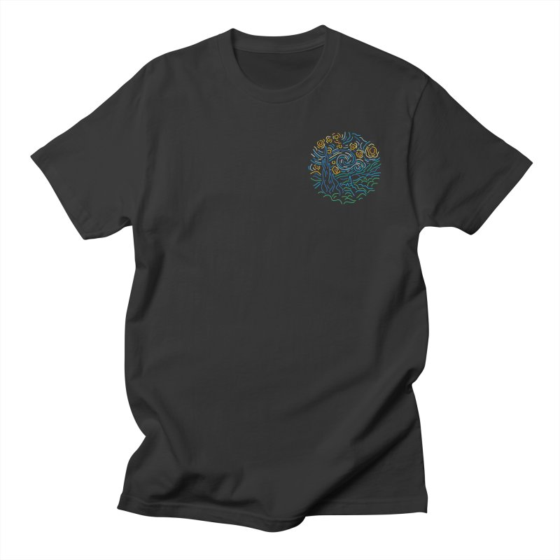 Starry night Women's Regular Unisex T-Shirt by Rodrigobhz