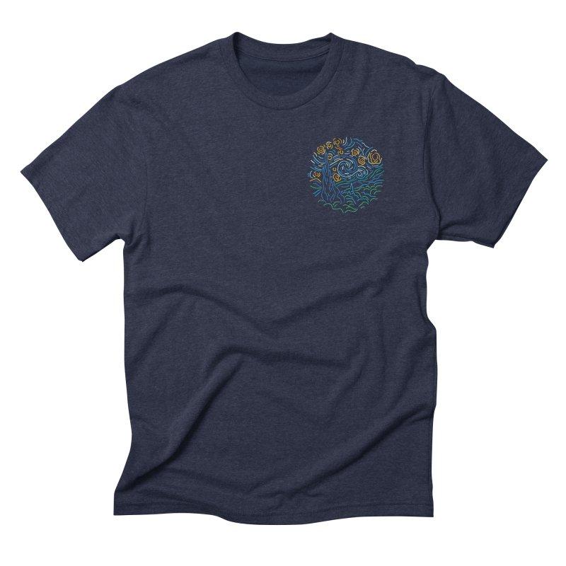Starry night Men's Triblend T-Shirt by Rodrigobhz