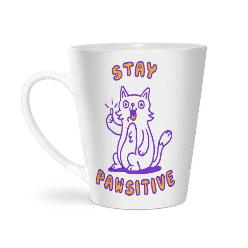 Stay pawsitive Accessories Mug by Rodrigobhz