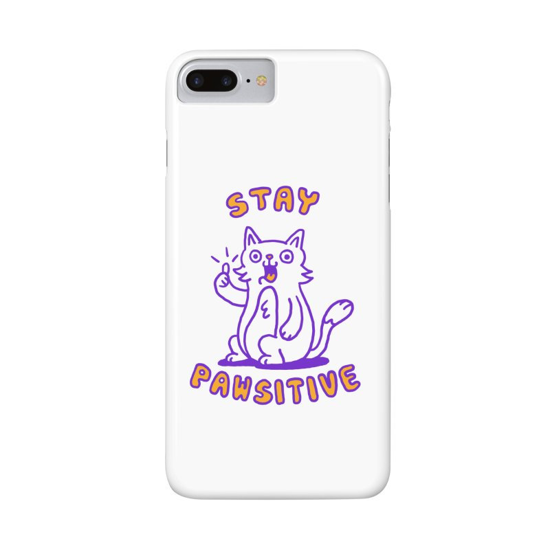 Stay pawsitive Accessories Phone Case by Rodrigobhz