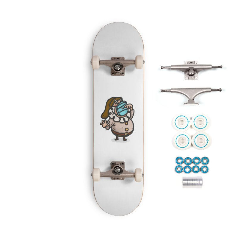 Quarantine Accessories Complete - Basic Skateboard by Rodrigobhz