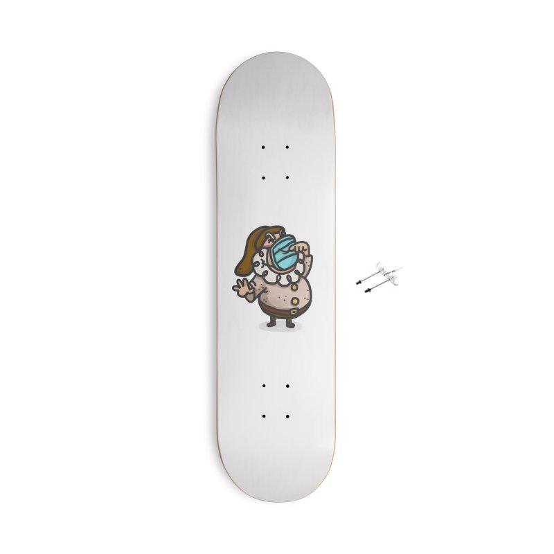 Quarantine Accessories With Hanging Hardware Skateboard by Rodrigobhz